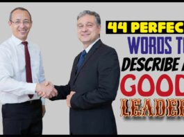 44 Perfect Words To Describe A Good Leader