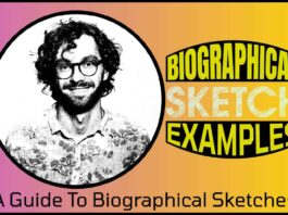 Biographical Sketch Examples