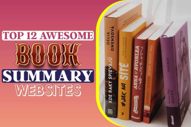 Top 12 Awesome Book Summary Websites