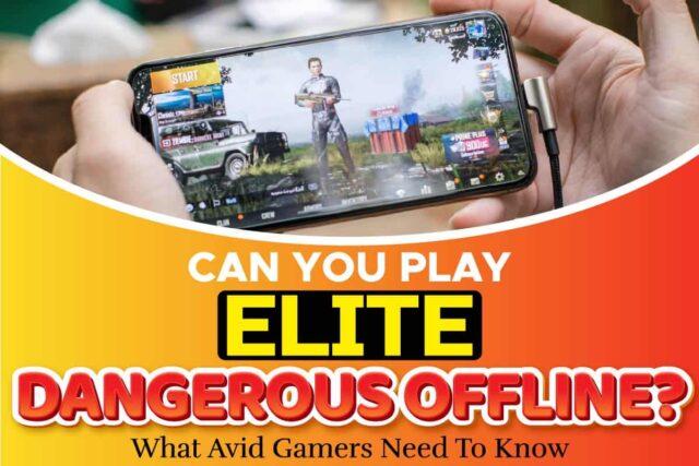 Can You Play Elite Dangerous Offline