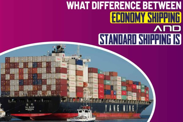 What Difference Between Economy Shipping And Standard Shipping Is