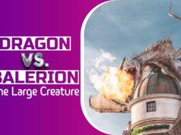 Dragon Vs. Balerion Size