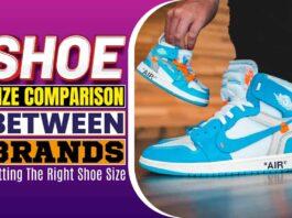 Shoe Size Comparison between Brands